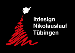 Logo itdesign Nikolauslauf Tübingen
