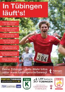 Plakat Tübinger Läufe Webvorschau