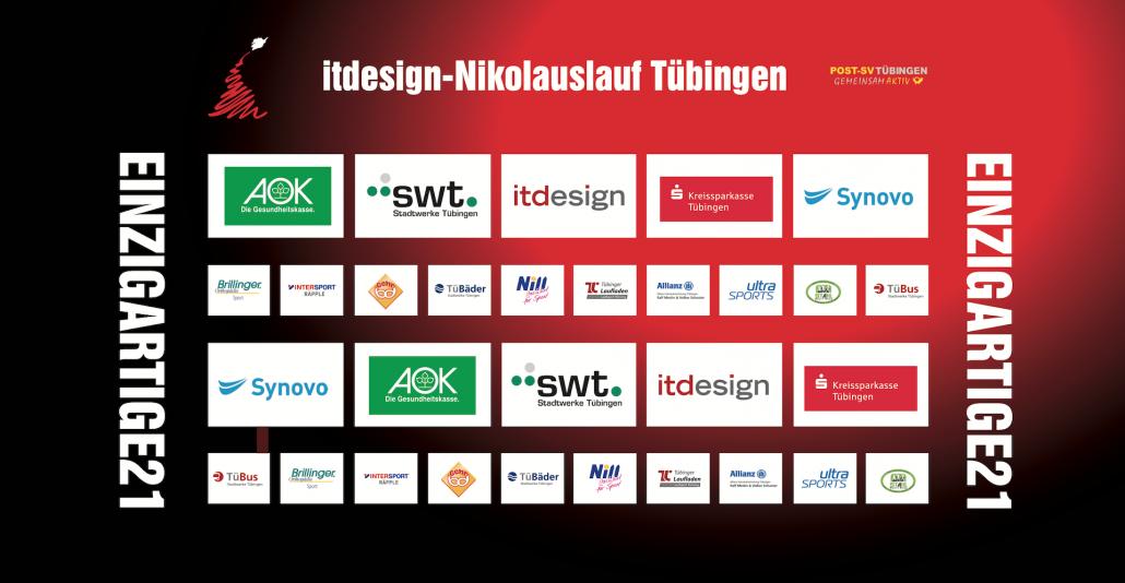 Sponsoren itdesign Nikolauslauf Tübingen