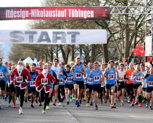 45. itdesign Nikolauslauf Tübingen 2020 – der Halbmarathon in Tübingen – Tübinger Nikolauslauf
