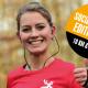 Plakat virtueller 45. itdesign Nikolauslauf Tübingen 2020 Halbmarathon 10 km Lauf Dezember 2020